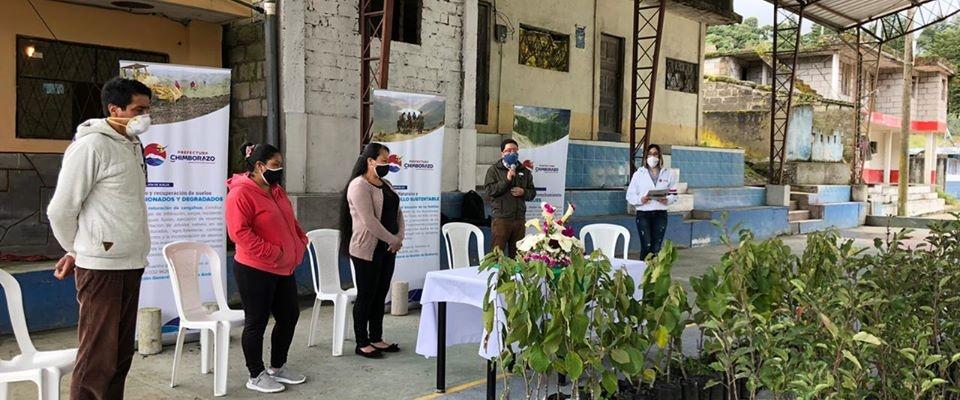 DONACION DE PLANTAS FRUTALES PARA REACTIVACION PRODUCTIVA DE LA POBLACIÓN.